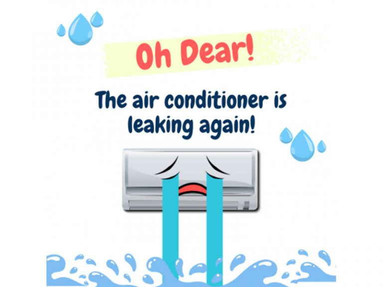 Why Is Your Air Cond Leaking