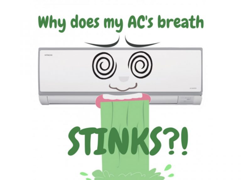 Why The Air From My Air Cond Smells Bad