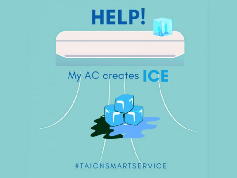 Ice In Your Air Cond