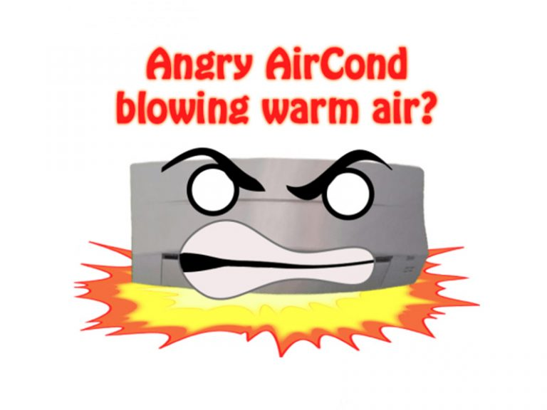 Why Is The Air Cond Blowing Warm Air